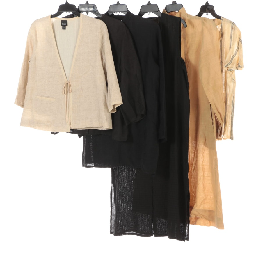 Eileen Fisher, Mary Ann Restivo and Other Linen Blend Tops and Tunics