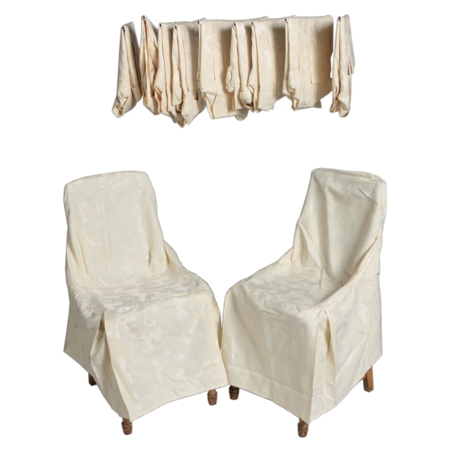 Tie Back Dining Chair Covers