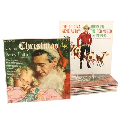 Gene Autry, Barbara Streisand, Percy Faith and Other Christmas Records