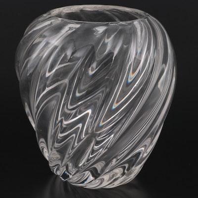 Cartier Crystal Vase, 20th Century