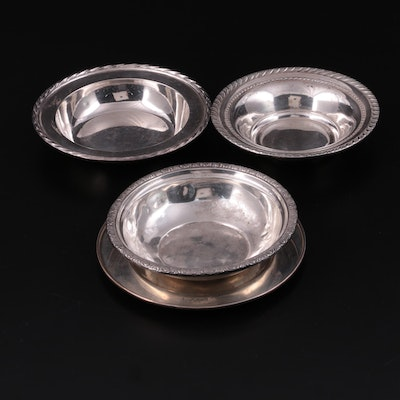 """International """"Prelude"""" and Other Sterling Silver Bowls and Plate"""