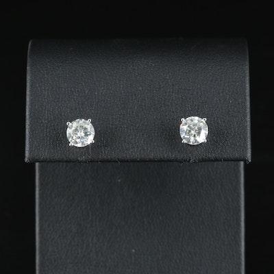 14K 1.60 CTW Diamond Stud Earrings