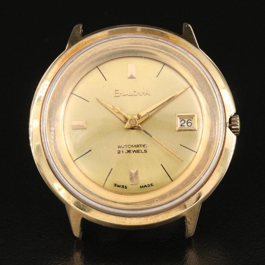 1957 Bulova Gold Plated Automatic Wristwatch