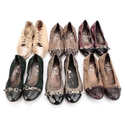 AGL Attilio Giusti Leombruni Flats and Sneakers with Box