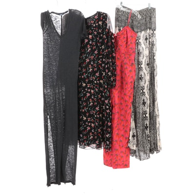 Free People and Monrow Maxi Dresses, Madewell Dress and Farm Jumpsuit