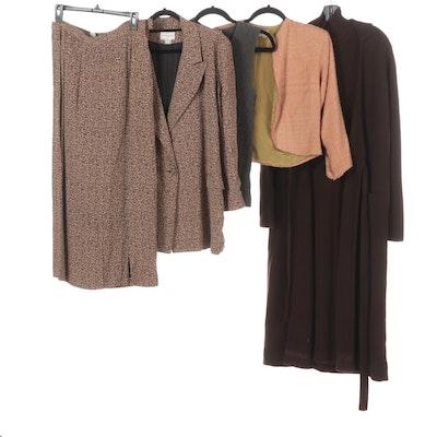 Henri Bendel Sweaters, Skirt, Jacket, Long Sweater Set, Max Mara Sweater