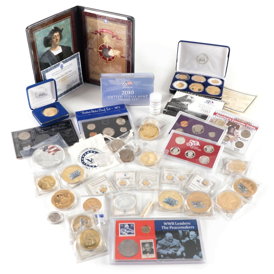 $1 Silver Eagle, Silver Proof Sets, Replica Coins, Commemorative Medals and More
