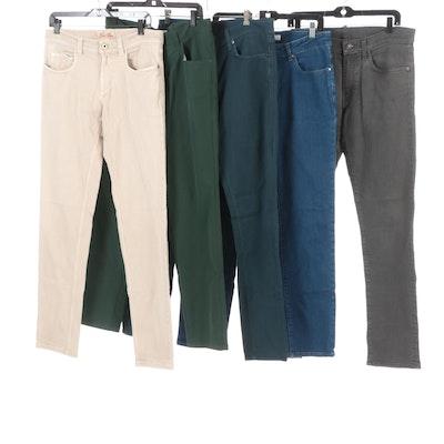Peter Millar, J. Brand, Nigel Curtiss, Loro Piana Men's Five Pocket Jeans
