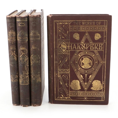 """""""The Works of Shakspere"""" Pictorial Edition Edited by Charles Knight, 19th C."""
