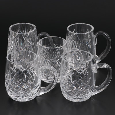 """Waterford Crystal """"Lismore"""" and Other Crystal Tankards"""