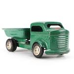 Richmond Scale-Model Steel Pressed Dump Truck Toy, Mid-20th Century