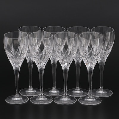 """Marquis by Waterford """"Summer Breeze"""" Crystal Wine Glasses"""