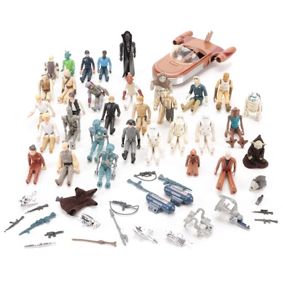 """Kenner and Hasbro """"Star Wars"""" Toys and Action Figures, Late 20th Century"""