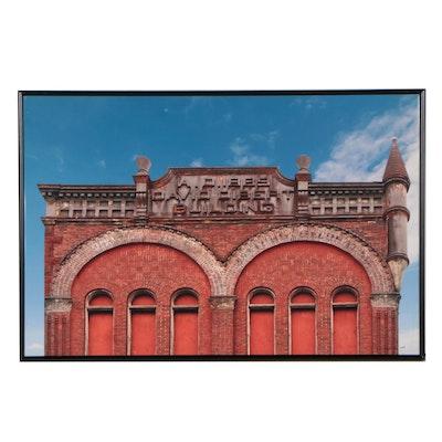 "Bill Rogers Chromogenic Photograph ""David Dibert Building,"" 2009"
