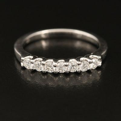 18K 0.30 CTW Diamond Multi-Stone Band