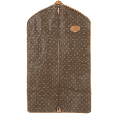 The French Company for Louis Vuitton Monogram Canvas Garment Bag