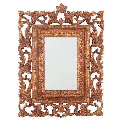 Baroque Style Gilt Composite Mirror, Late 20th Century