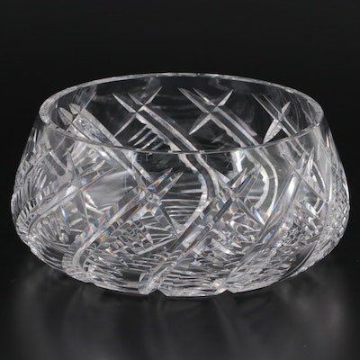 Waterford Crystal Centerpiece Bowl, Late 20th Century