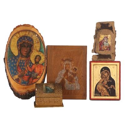 Eastern European Icons, Late 20th Century