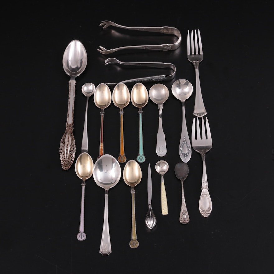 Wallace, Frank M. Whiting with Other Sterling Silver and Metal Flatware