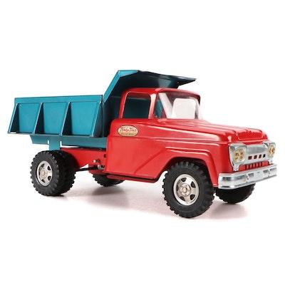 Tonka Metal Dump Truck Toy, Mid-20th Century