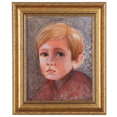 Sue Lynch Mixed Media Portrait, 2005