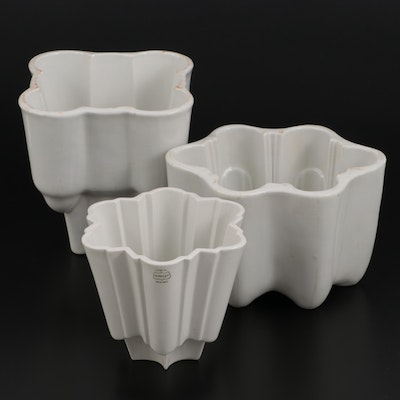 Shelley and Other English Ironstone Jelly Molds, Late 19th to Early 20th Century