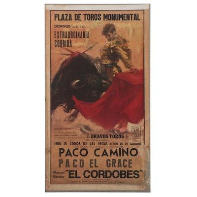 Offset Lithograph Poster After Vicenç Badalona Ballestar, 1964