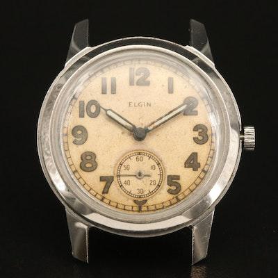 Vintage Elgin Ordnance Department WWII Military Wristwatch