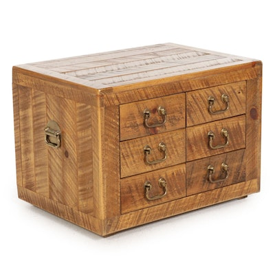 Contemporary Rustic Style Chest of Drawers