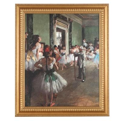 """Inkjet Print After Edgar Degas """"The Dance Class,"""" 21st Century"""
