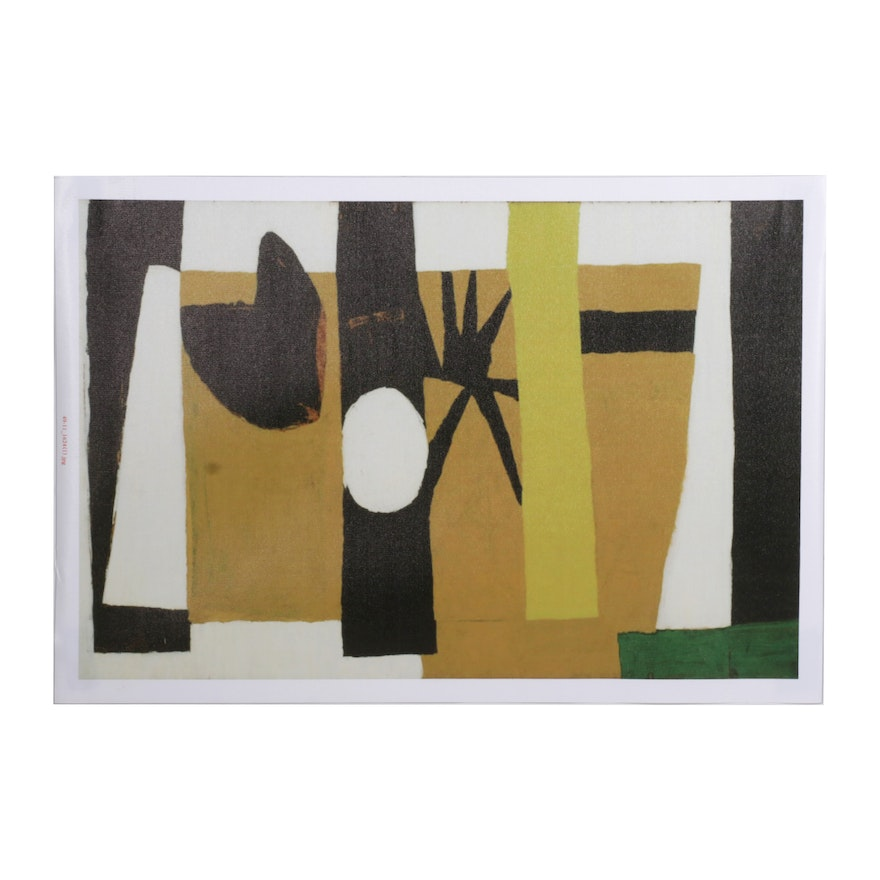 """Giclée After Robert Motherwell """"The Voyage,"""" 21st Century"""