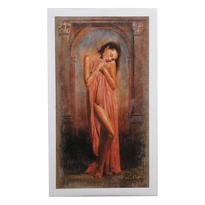 "Tomasz Rut Giclée ""Woman,"" 21st Century"