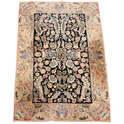 3'7 x 5'7 Machine Made Chinese Floral Area Rug from The Rug Gallery