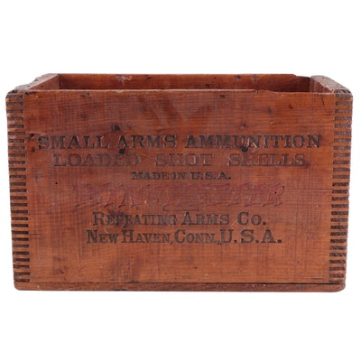 Winchester Repeating Arms Co. Small Arms Ammunition Crate