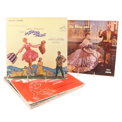 """""""The Sound of Music"""" with Other Musical & Soundtrack Vinyl Records"""