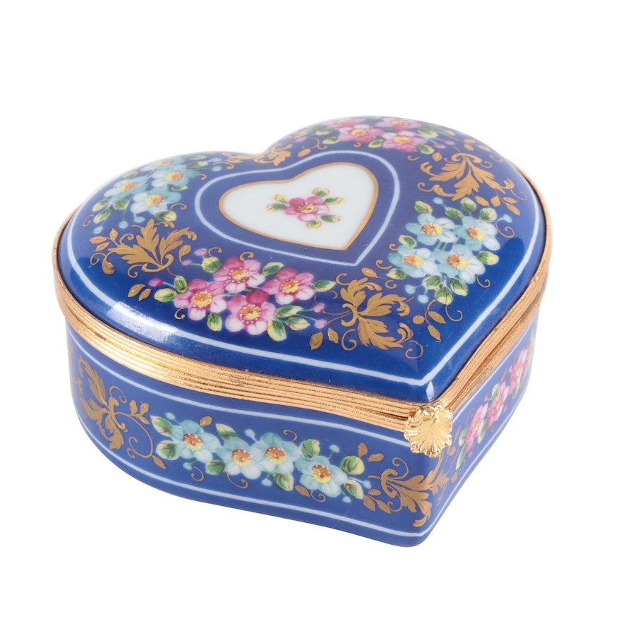 Camille Le Tallec for Tiffany & Co. Private Stock Hand-Painted Porcelain Box