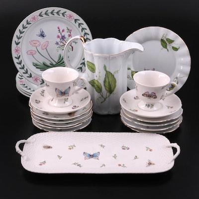 "Godinger ""Primavera"" and ""Jardin"" with Nantucket Home Dinner and Serveware"