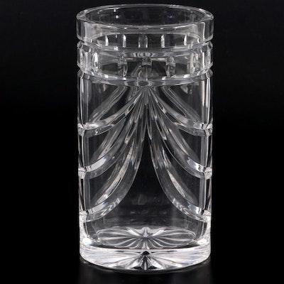 "Waterford Crystal ""Overture"" Flower Vase"
