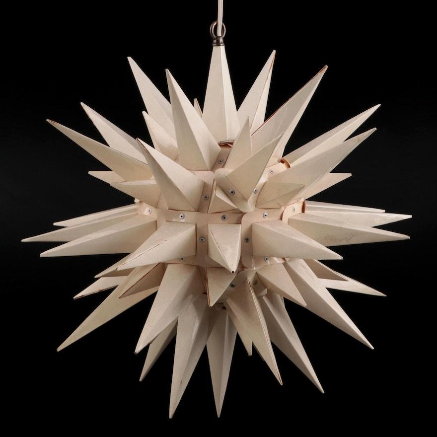 Canadian Moravian Star Plastic Pendant Light