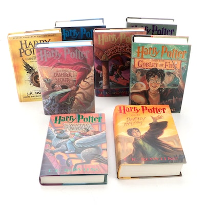 """First American Edition """"Harry Potter"""" Complete Series with """"The Cursed Child"""""""