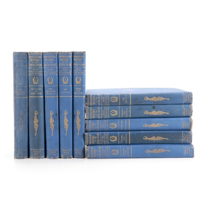"""""""The Photographic History of the Civil War"""" Complete Ten-Volume Set, 1912"""