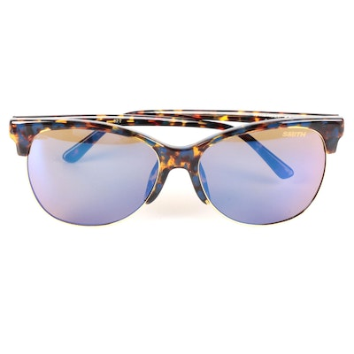 Smith Optics Rebel Horn-Rimmed Style Carbonic Lens Sunglasses with Case