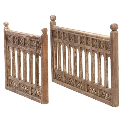 East Indian Victorian Architectural Railing Panels