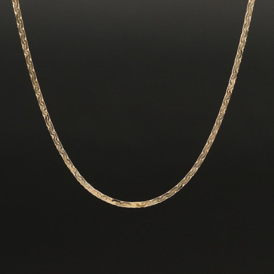 14K Bismark Chain Necklace