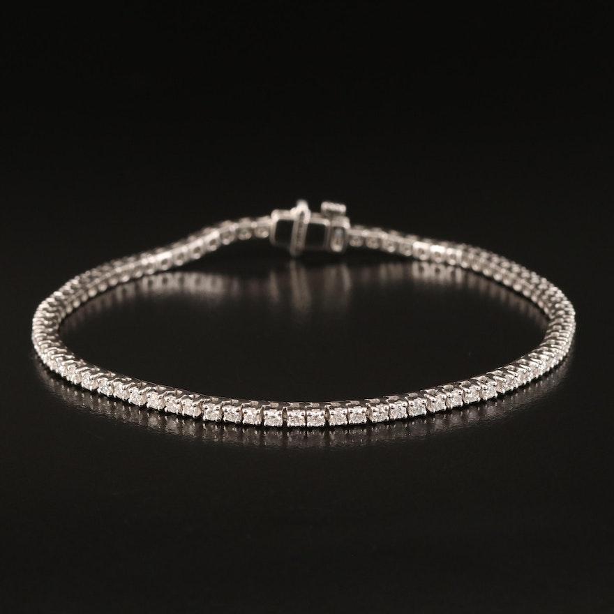 14K 2.00 CTW Diamond Line Bracelet