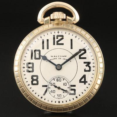 1948 Waltham Vanguard Railroad Grade Pocket Watch