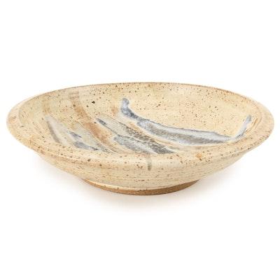 Artisan Made Wheel Thrown Glazed Ceramic Bowl