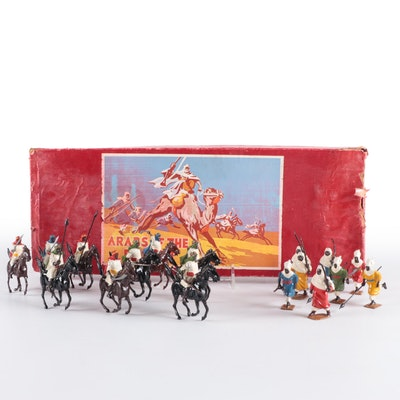 """Britains """"Arabs of the Desert"""" Toy Figures Set"""