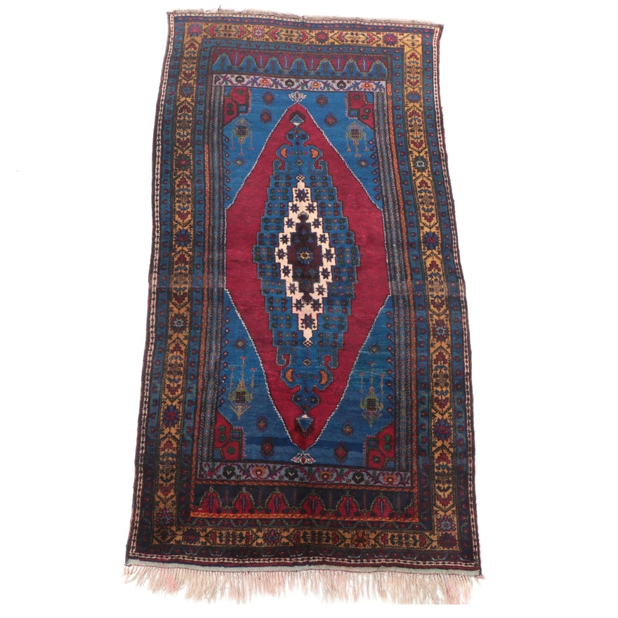 5'6 x 10'10 Hand-Knotted Turkish Konya Area Rug
